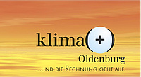 Logo der energiesparinitiative Klima(+)Oldenburg. Bild: Stadt Oldenburg