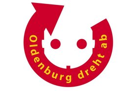 "Logo ""Oldenburg dreht ab"". Quelle: Stadt Oldenburg"