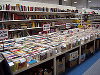 Books for sale at the communtiy charity store. Picture: Community Charity Store Mehr-Wert