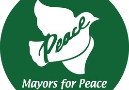 Mayors for Peace Logo.