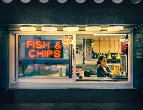 The Perfect Fish and Chips. © Barry Cawston
