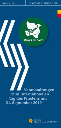 Titelblatt zu Mayors for Peace. Foto: Stadt Oldenburg
