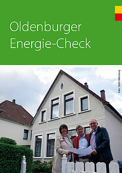Titelbild Flyer Energie Check. Bild: Stadt Oldenburg