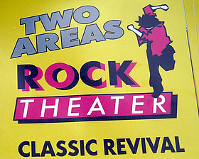 Poster der Rocktheater Revival. Bild: Rockteather Revival