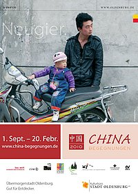 Plakat China Begegnungen 2010. Quelle: Stadt Oldenburg