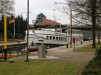 Oldenburger Schleuse. Foto: Rolf Scharfenberg