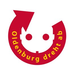 Logo Oldenburg dreht ab. Quelle: Stadt Oldenburg