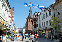 View at Oldenburg's pedestrian zone. Picture: City of Oldenburg
