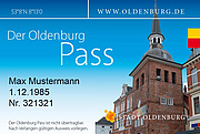Muster des Oldenburg-Passes. Grafik: Stadt Oldenburg