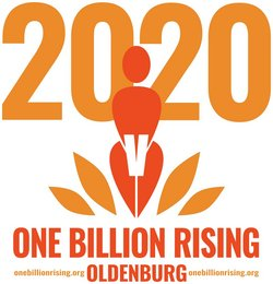 Kampagnen-Logo. Grafik: One Billion Rising / Carsten Lienemann