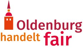 "Logo ""Oldenburg handelt fair"". Quelle: Aktionsbündnis Oldenburg handelt fair"