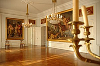 Room with exhibition in the Oldenburg Palace. Picture: Landesmuseum für Kunst und Kulturgeschichte