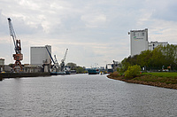 Der Oldenburger Hafen. Foto: AGRAVIS Kraftfutterwerk Oldenburg