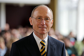Prof. Dr. Dr. Hans Michael Piper, Präsident der Universität Oldenburg