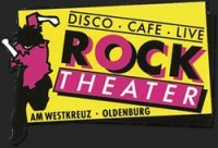 Plakat der Rocktheater Revival Party