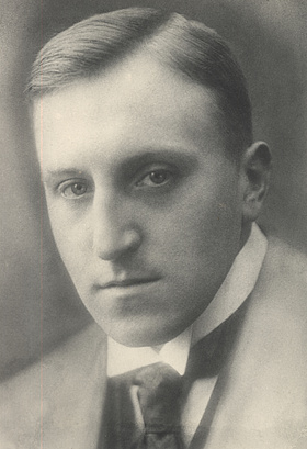 Carl von Ossietzky as a young man. Photo: University of Oldenburg.