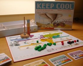 Brettspiel KEEP COOL. Foto: Stadt Oldenburg