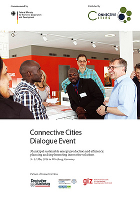 Titelbild des Berichtes zum Connective-Cities-Event in Würzburg. Quelle: Connective Cities