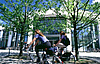 Students on bikes in front of university. Picture: CvO University Oldenburg