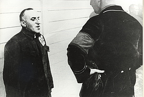 Carl von Ossietzky in the concentration camp Esterwegen. Photo: University of Oldenburg.
