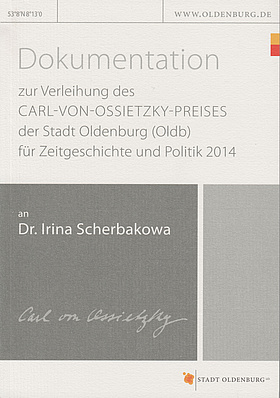 Cover der Dokumentation 2014. © Stadt Oldenburg