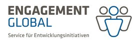 Logo Engagement Global – Service für Entwicklungsinitiativen. Quelle: Engagement Global
